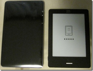 kobo Touchとの比較