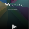 Nexus7で遊ぶ! その3: 電源投入!