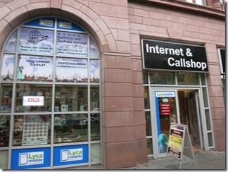 カイザー通りの「Internet and Callshop」