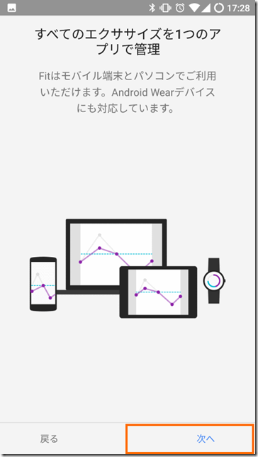 Google Fitの説明