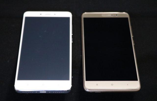 Redmi Note 4とRedmi Note 3 Proの比較 正面