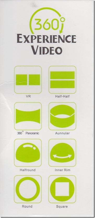 Sports XDV360のパッケージ (側面)