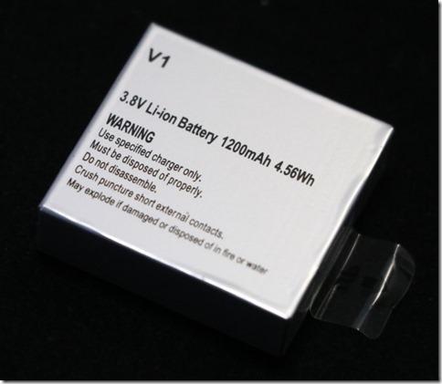 Sports XDV360のバッテリー