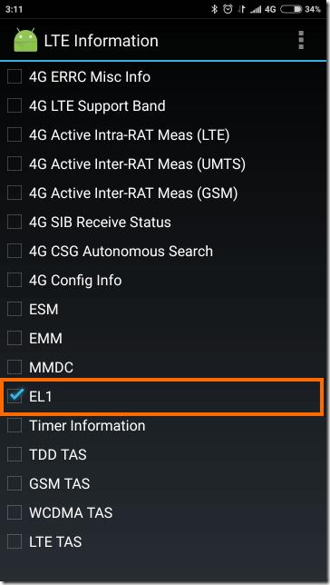 EL1を選択