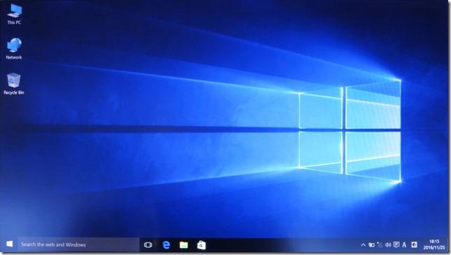 Windowsのデスクトップ画面