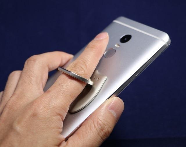 指紋センサーの利用