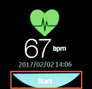 心拍数の測定