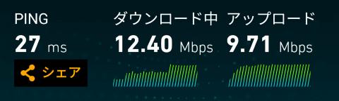 DTACの通信速度