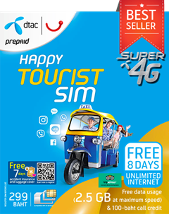 Happy Tourist SIM 299