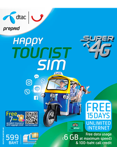 Happy Tourist SIM 599
