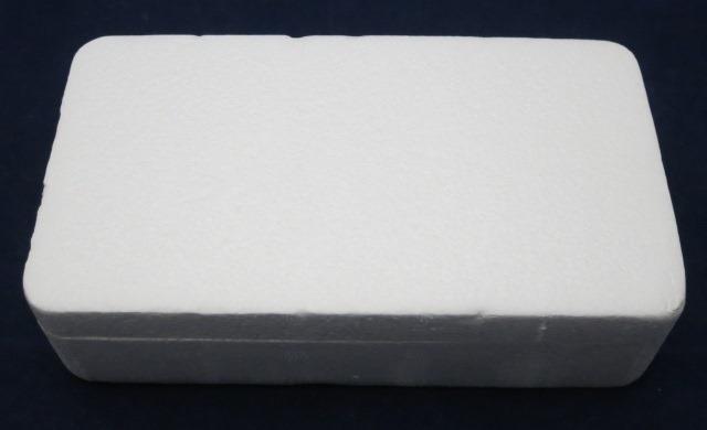 発泡スチロールのパッケージ