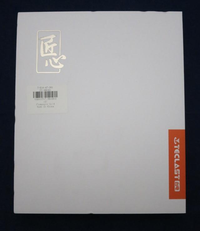 Teclast T8のパッケージ 正面