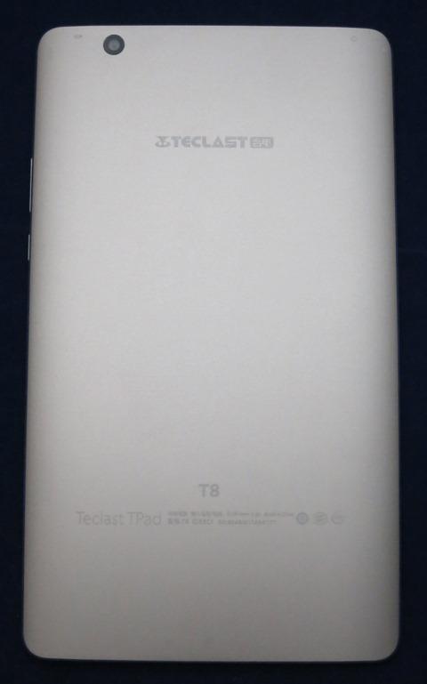 Teclast T8の背面