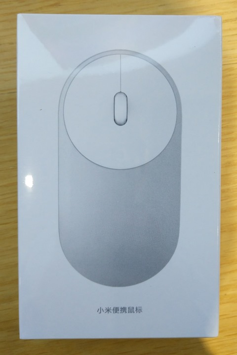 Bluetoothマウスのパッケージ