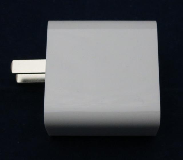 USBチャージャーのプラグ