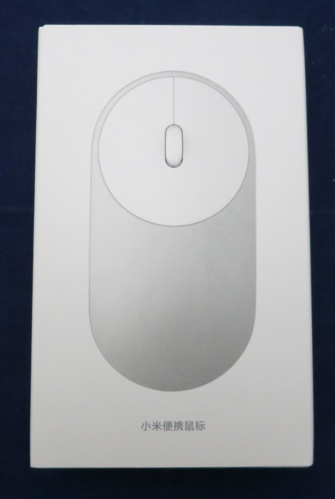 Xiaomiモバイルマウス パッケージ 表面