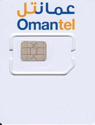 OmatelのSIMカード 表