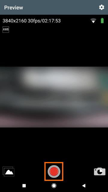 タイムラプス撮影モード