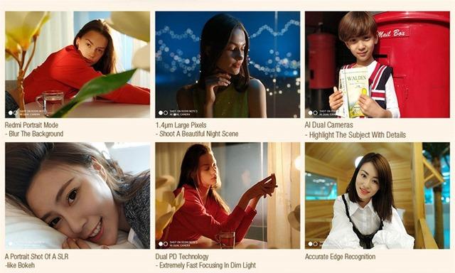 Redmi Note 5のカメラ機能詳細
