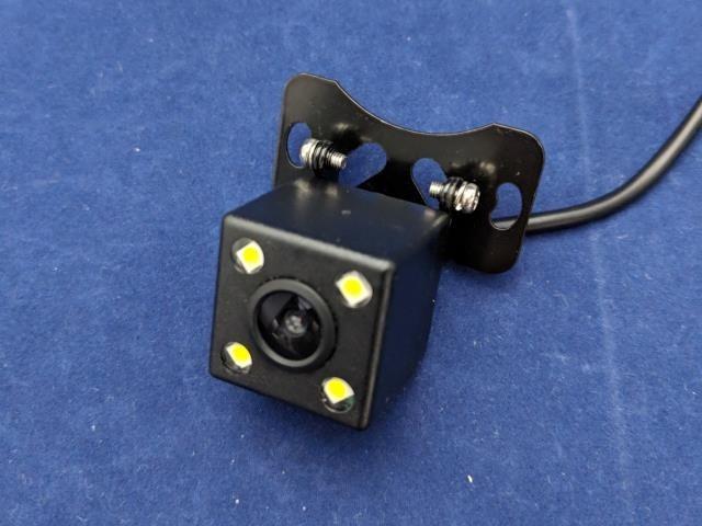 LED付のバックカメラ