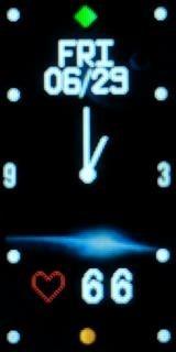 時計表示 アナログ風