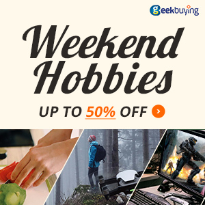 Weekend Hobbies Up to 50% off