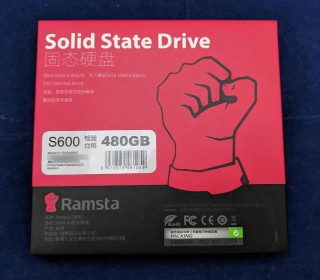 Ramsta S600のパッケージ (裏)
