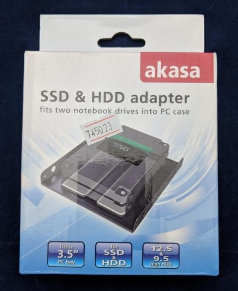 HDD/SSDマウンタのパッケージ