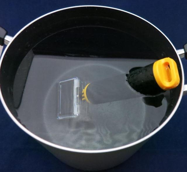 鍋を使った実験
