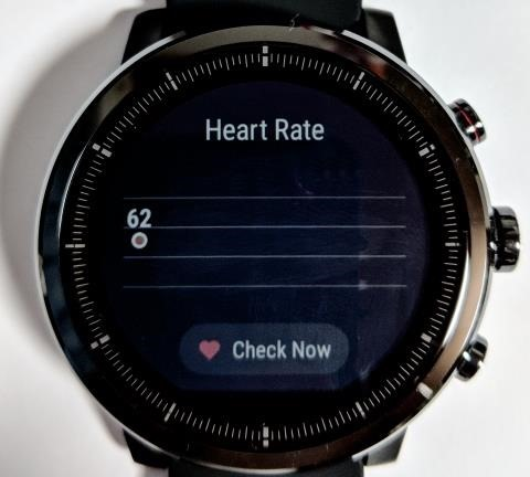 Amazfit Stratos画面: Heart Rate