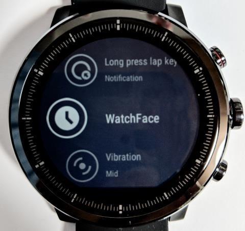 WatchFaceを選択