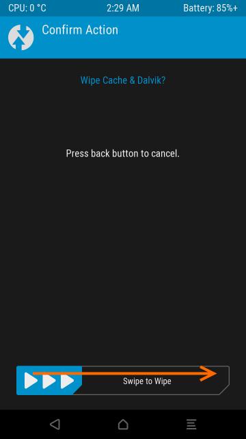 キャッシュを削除