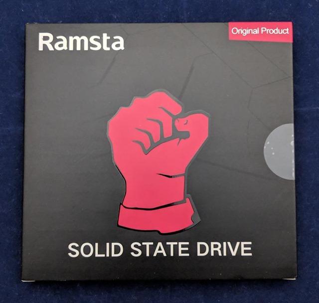 Ramsta S800のパッケージ 正面