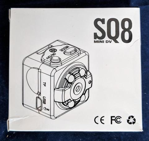 Car Video Recorderのパッケージ 表