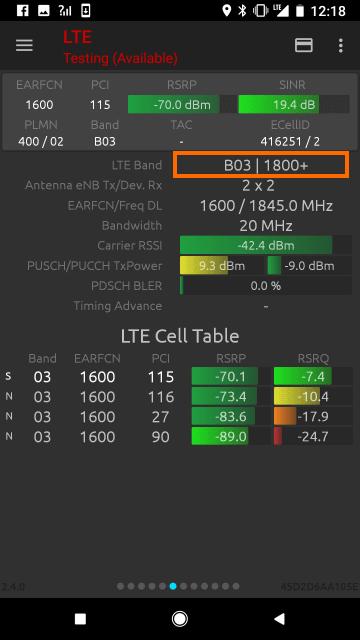 LTEの周波数 1