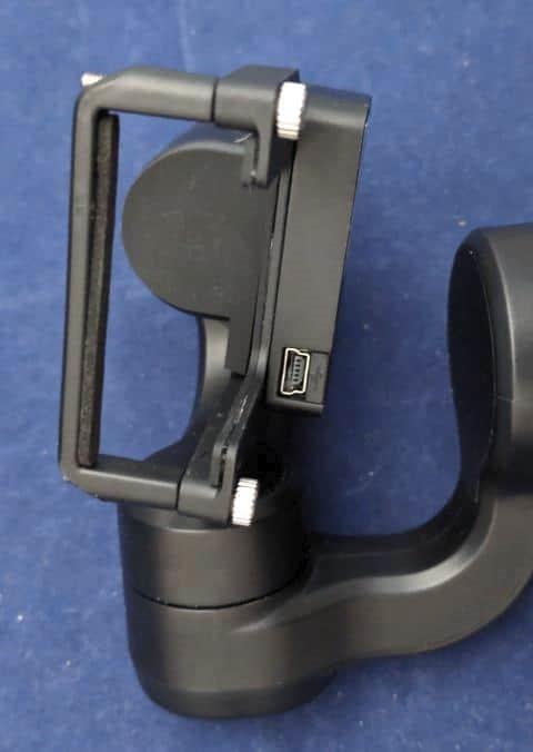 iSteady Proのカメラ装着部