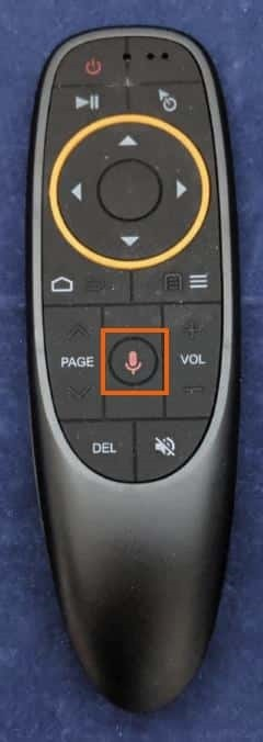 マイクボタン