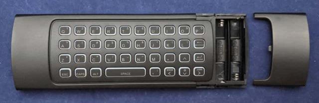 Air Mouse MX3-L-Mの電池ボックス