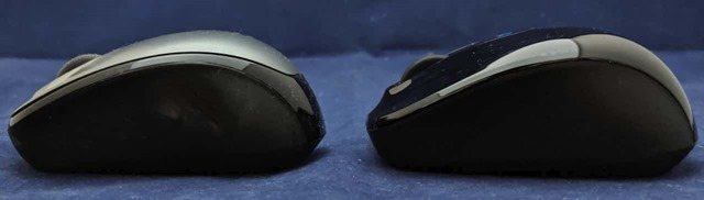 Microsoft Wiress Mobile Mouse 3500との比較