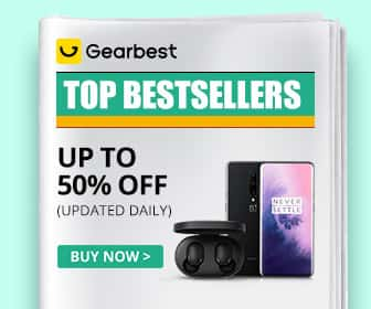 Gearbest Top Bestsellers: Up to 50% OFF promotion