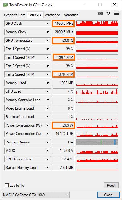 GPU負荷状況 ベンチマーク実行中