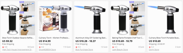 AliExpressの販売状況