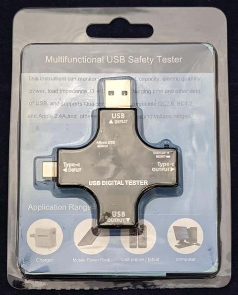 USBチェッカーのパッケージ