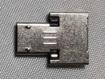 USB変換アダプタ 裏