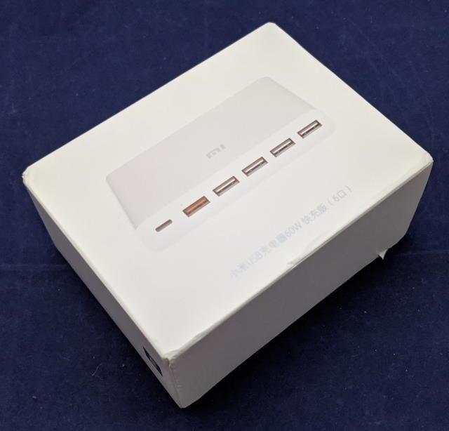 USBチャージャーのパッケージ