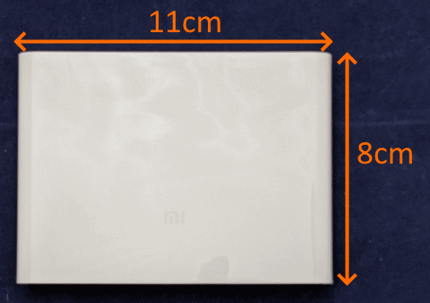 Xiaomi USBチャージャー サイズ