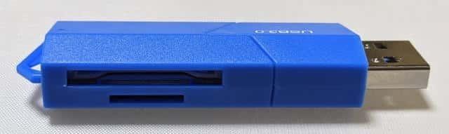 USB3.0対応のSDカードリーダー カードスロット