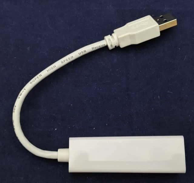 USB Ethernetアダプタ