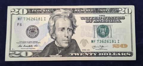 20ドル札