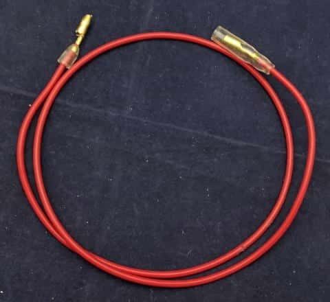 加工した配線ケーブル